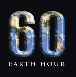 Earth Hour is this Saturday!!!