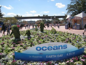 Dinsey Nature's Ocean Topiary at Epcot
