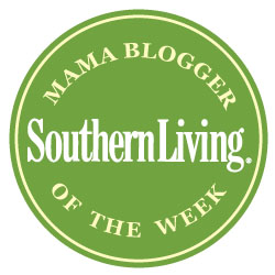 I'm a Featured Blogger at Southern Living Magazine