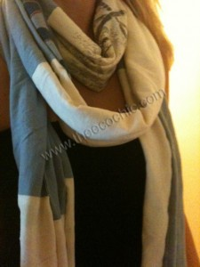 Oldie But Goodie – Upcycled T-Shirt Scarf