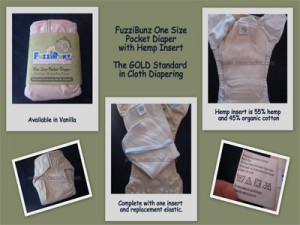 FuzziBunz One-Size Hemp Cloth Diaper Review (and Giveaway)