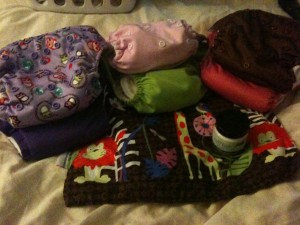 Cloth Diapers Go to Day Care