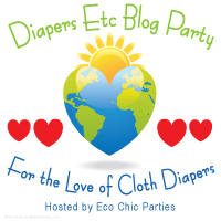 Win FREE Cloth Diapers in the Diapers Etc Blog Party!!