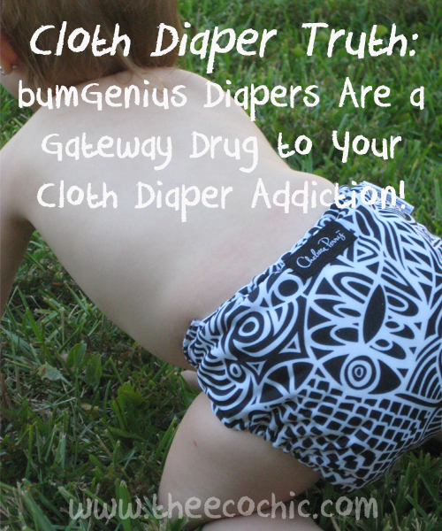 Cloth Diaper Truth: bumGenius Diapers Are a Gateway Drug to Your Cloth Diaper Addiction