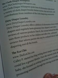 Cloth Diaper book