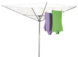 Umbrella clothes line