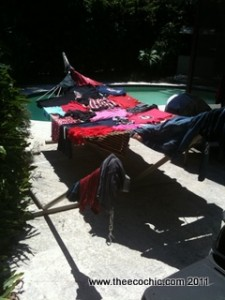 Hammock Clothes Line