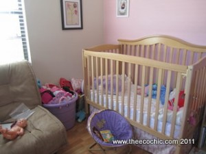Toddler Room Remodel – Before