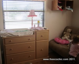 Changing table & dresser
