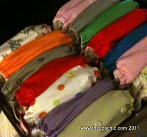 Saying Goodbye to Cloth Diapers