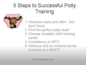 5 Steps to Successful Potty Training