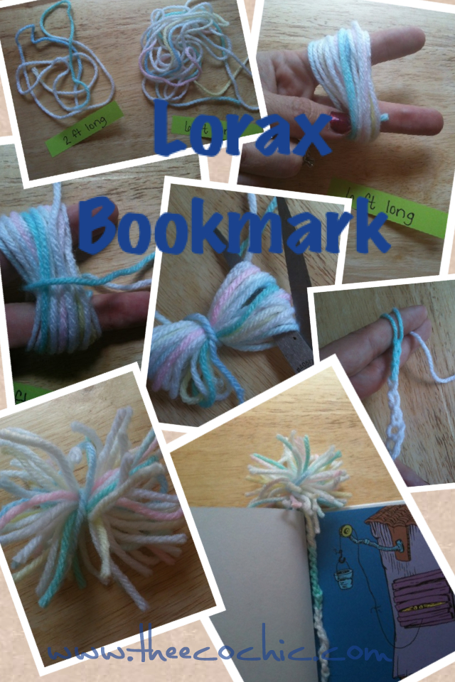 Lorax Bookmark Craft
