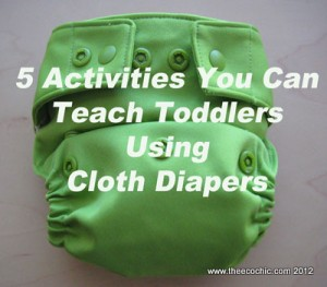 Teaching Toddlers With Cloth Diapers