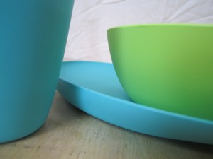Zoe B fantastic anti-plastic dishes