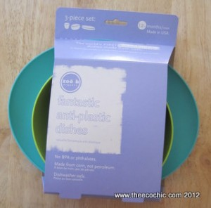 Featured Product Review: fantastic anti-plastic dishes by zoe b