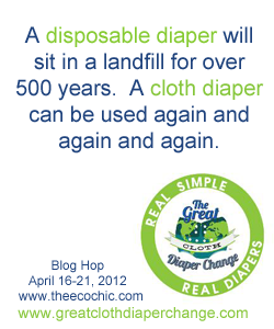 Save the Landfills, Use Cloth Diapers