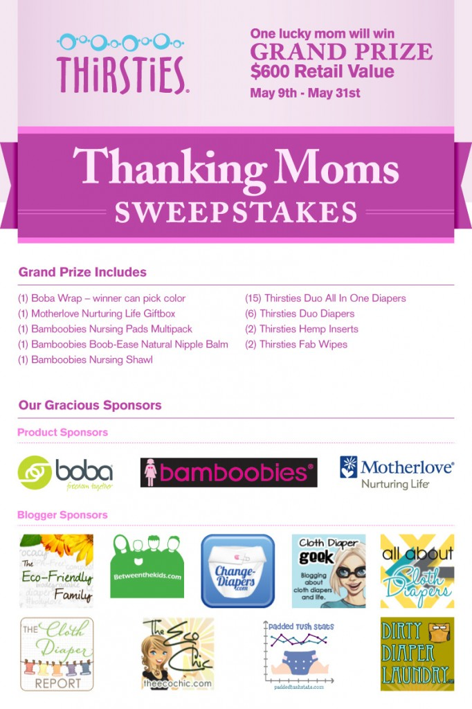 Thanking Moms Sweepstakes