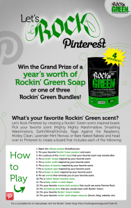Let's Rock Pinterest with Rockin' Green