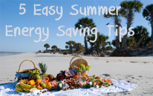 5 Easy Summer Energy Saving Tips