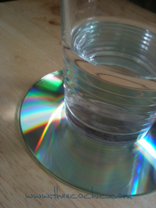 Compact Disc (CD) Upcycled Crafting #freefromtrash