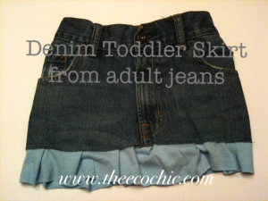 Upcycled Denim Crafts #freefromtrash