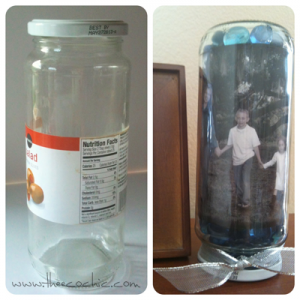 Glass Jar Craft #freefromtrash