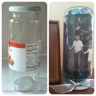 Glass Jar Craft #freefromtrash