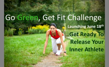 Go Green Get Fit Challenge #gogreengetfit