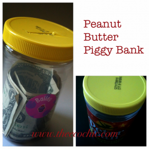 Peanut Butter Piggy Bank #freefromtrash