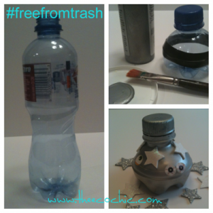 Water Bottle Crafts #freefromtrash