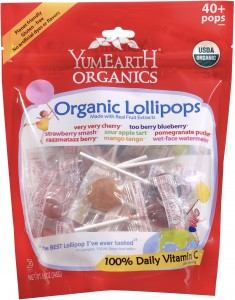 YumEarth Organic Lollipops