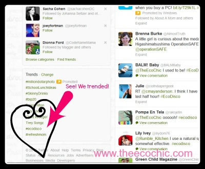#EcoDisco Twitter Party