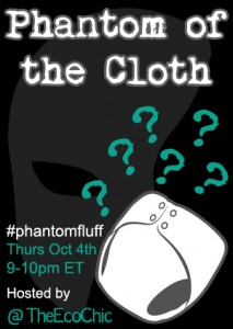 RSVP for #PhantomFluff Twitter Party 10/4/12