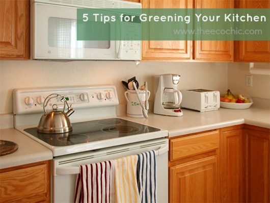 5 Tips for Greening Your Kitchen