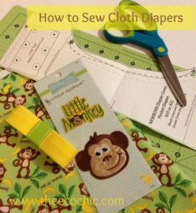 How to Sew Cloth Diapers with Babyville Boutique