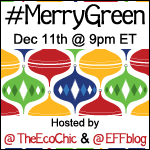RSVP to #MerryGreen Twitter Party 12/11/12