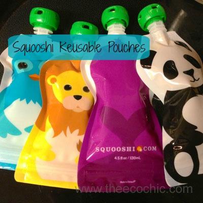 Squooshi Reusable Pouches