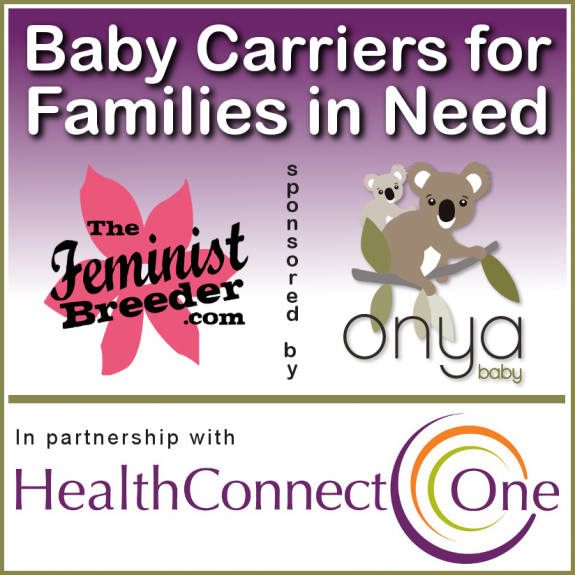 Baby Carriers for Families in Need