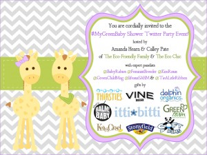 You're Invited to a Green Baby Shower (#MyGreenBaby)