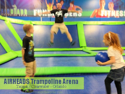 Airheads Trampoline Arena Tampa