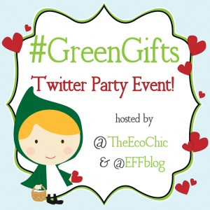 RSVP for #GreenGifts Twitter Party – 2/12/13