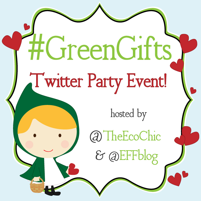 Green Gifts Twitter Party 2/12/13