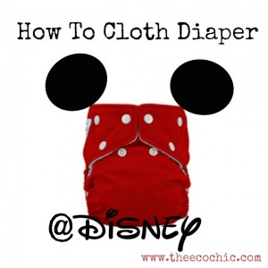 Cloth Diapering at Disney World