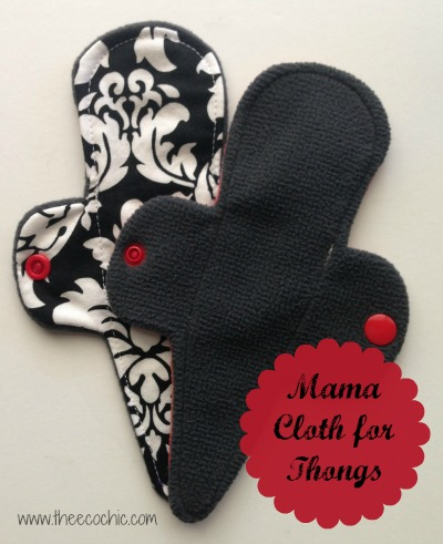 Mama Cloth for Thongs @TheEcoChic
