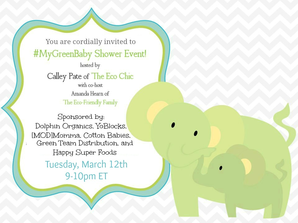 You Are Cordially Invited To Mygreenbaby Shower Event A Tampa