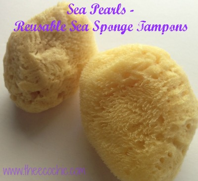 Sea Pearls Reusable Sea Sponge Tampons @TheEcoChic