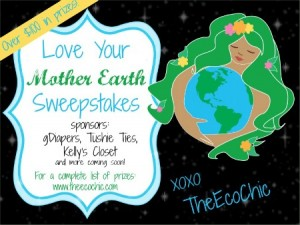 Love Your Mother Earth Promotion and Giveaway