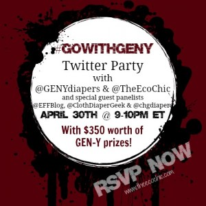 Go With GEN-Y Twitter Party – #GOWITHGENY