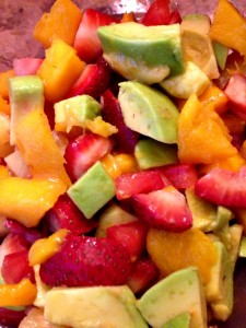 Mango Avocado Fruit Salsa Recipe