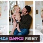 Polka Dance Print by Thirsties